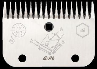 Lister-Viehschermaschinen - Untermesser A6 allein L1362