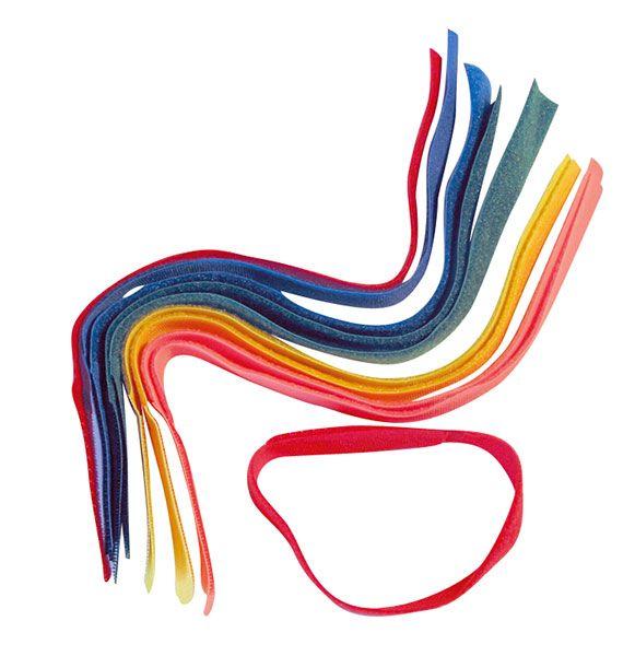 Fix-Line-Fesselbänder einfarbig, für Kühe, F215 GELB