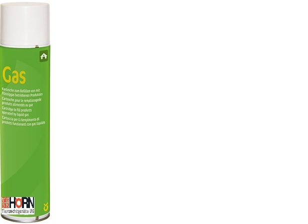 Gaskartusche für Preventa Euterhaarentferner HE 32404