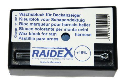 Deckgeschirr für Schafböcke-Farbblock BLAU H 5401