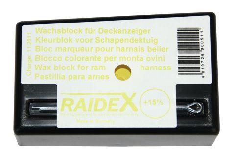 Deckgeschirr für Schafböcke-Farbblock GELB H 5405