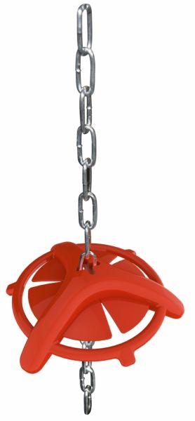 Ferkelbeißring mit Aufhängekette 75cm