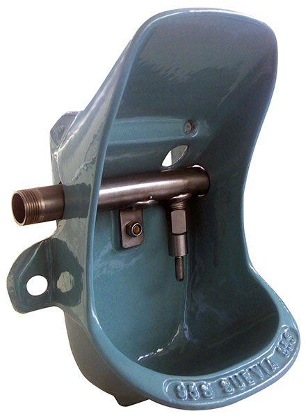 Tränkebecken Mod. 95 U, Gusseisen, Edelstahl-Ventil (Inox)