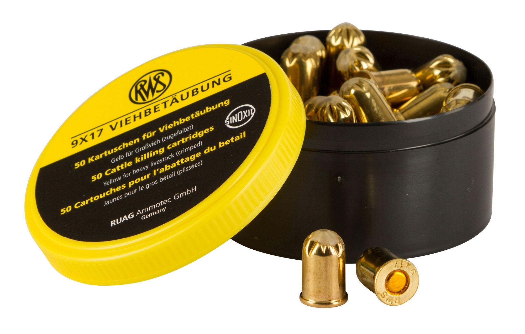 Patronen für 9mm Viehbetäubungsgerät, für leichte Tiere 2390