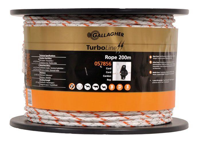 TurboLine Cord 200m weiß G 6222