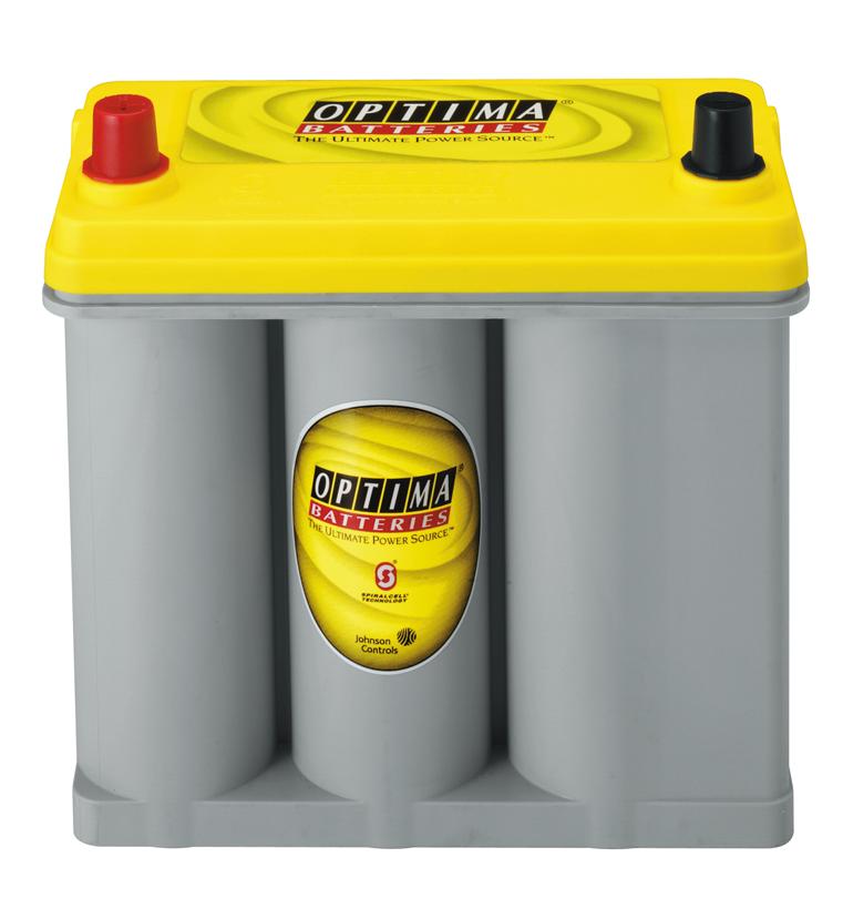12V-Akku-Batterie Optima Yellowtop S2,7L für B180 G1336