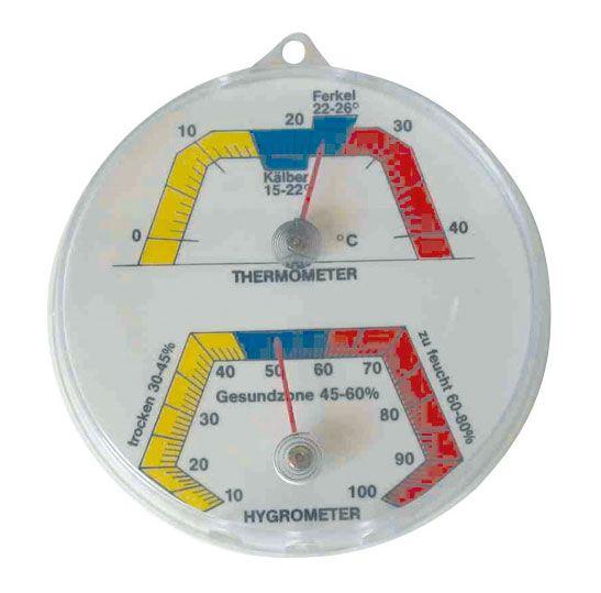 Komb. Thermo-/Hygrometer zur Messung im Stall, HE 920