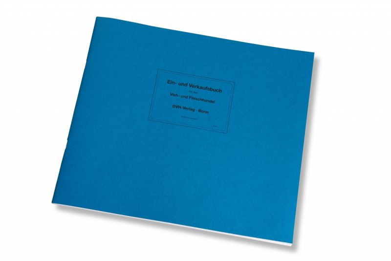 Ein- und Verkaufsbuch, 48 Doppelseiten EVB 1