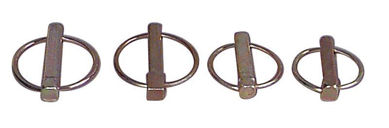 Sicherheitsklappstecker, Splinte - Klappsplinte E 939 9,5mm