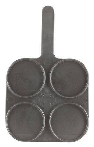 Für Milcherzeuger - MUHA-TEST-Schale, schwarz HY 819