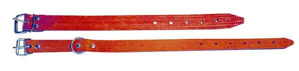 Lederhalsbänder aus Rindleder, 2,5cm breit, 80cm lang HK238