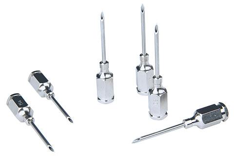 Kanülen mit Luer-Lock-Ansatz, Nadellänge 10mm, Ø1,2