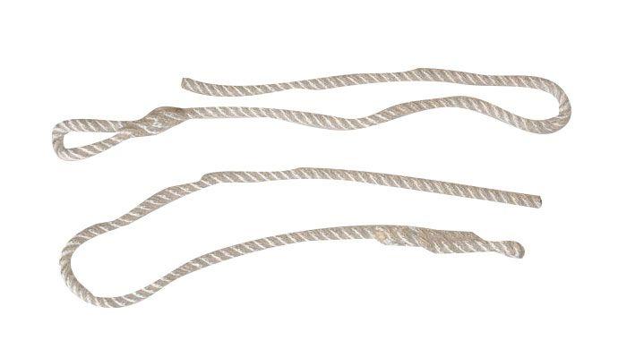 Augenhaken und Geburtsketten - Ersatzstricke HG 124
