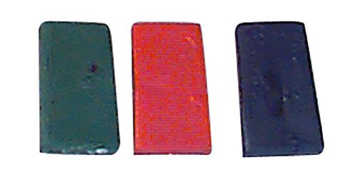Deckgeschirr für Schafböcke 10 Farbblöcke SCHWARZ H 5414