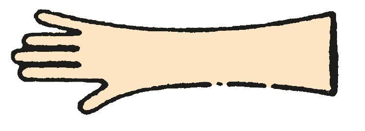 Handschuhe - Einmalhandschuhe, 90 cm lang HY 180