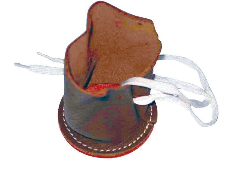 Klauenschuh für Schafe und Ziegen, aus Leder HC 760