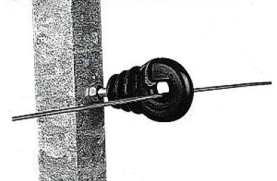 Ringisolator Typ BS, Eisengewinde, Packung 25 Stück G3652