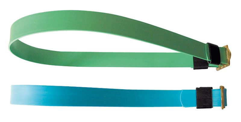 Markierungshalsbänder ohne Numerierung, 90 cm F614 WEISS