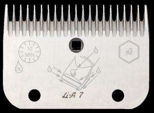 Lister-Viehschermaschinen - Untermesser A7 allein L1372