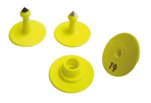Allflex-Ohrmarken, Größe 0 einseitig geprägt D 900