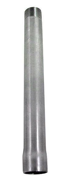Anschlussrohr Edelstahl, Innen-/Außengewinde, 750mm