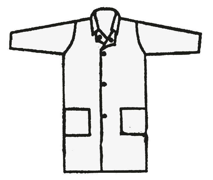 Schutzkleidung - Mehrweg-Schutzmantel, Größe XL HY 128