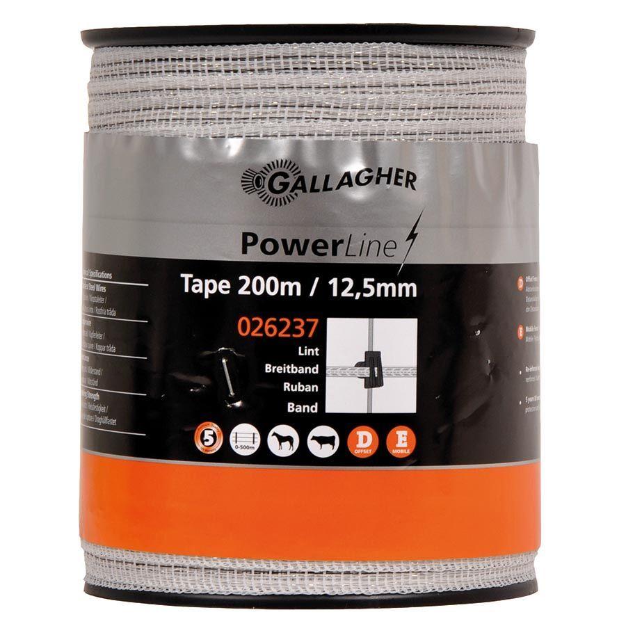 PowerLine Breitband 12,5 mm, 200m weiß - G2225